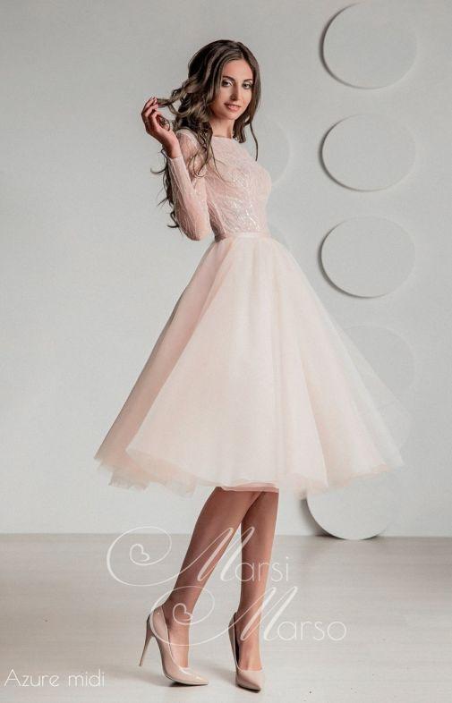Свадебное платье AZURE MIDI