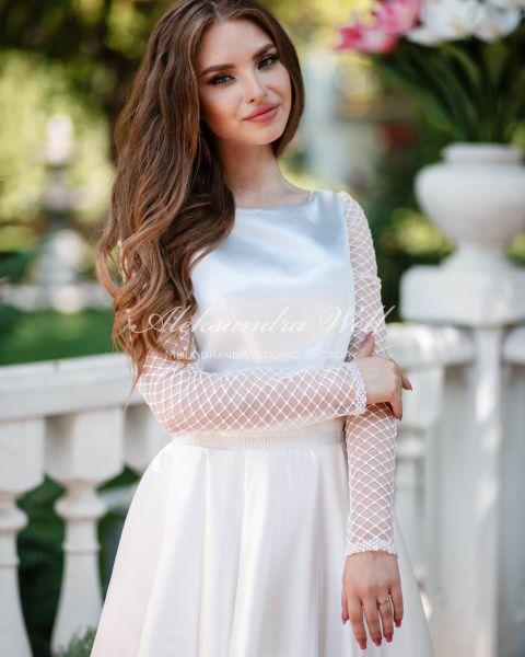 Свадебное платье САТИ