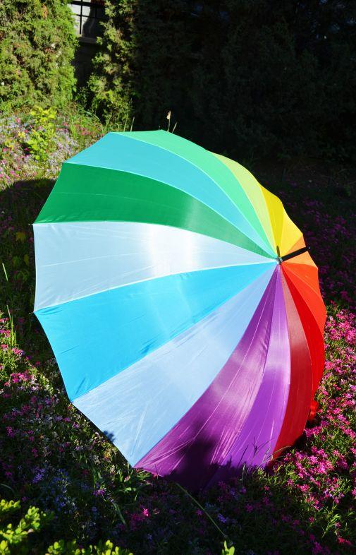 Зонтик-радуга
