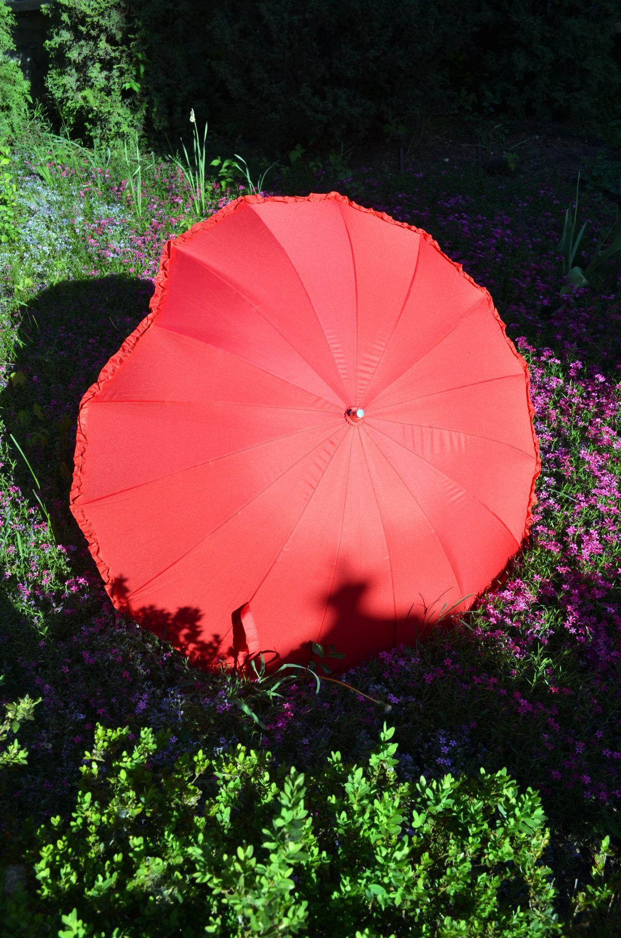 Зонтик-сердце