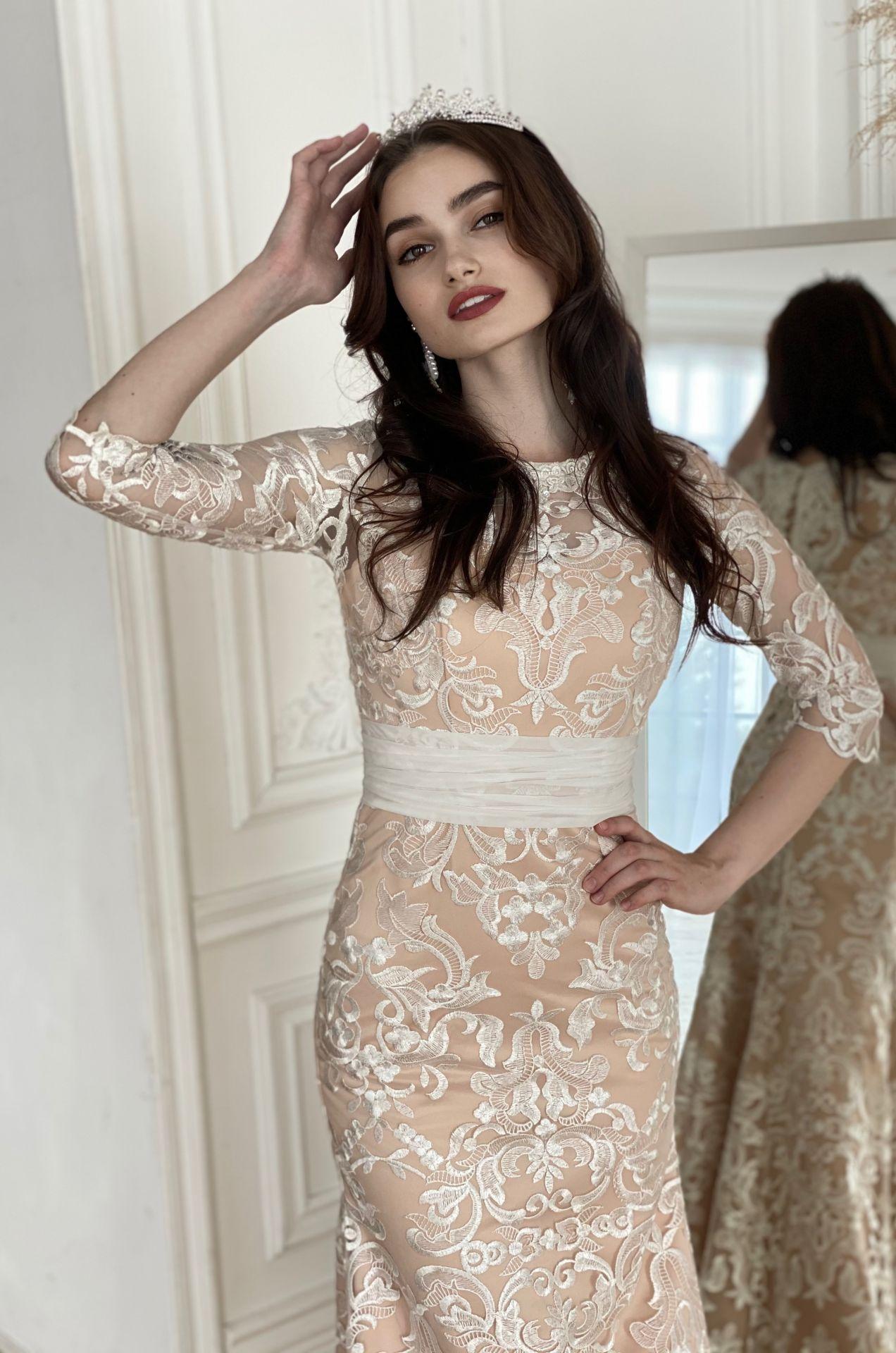 Свадебное платье КАПУЧИНО