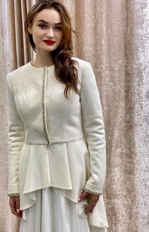 Свадебное пальто