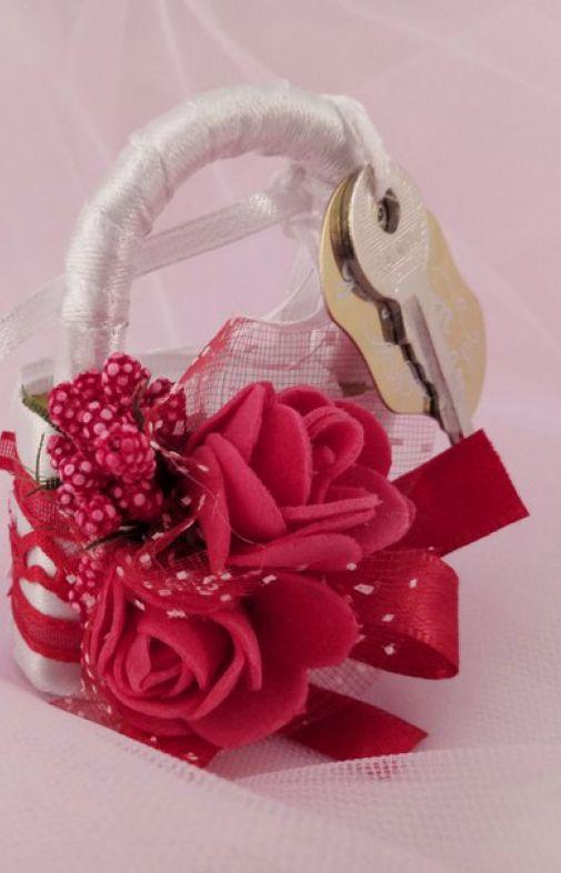 Свадебный замочек